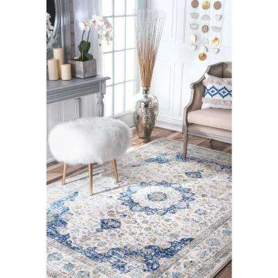 Verona Blue 8 ft. x 10 ft. Area Rug