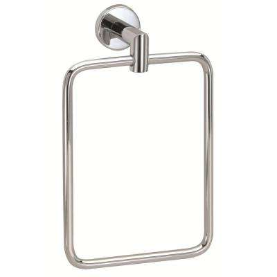 Astral Towel Ring in Chrome
