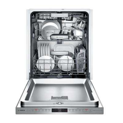 800 Series Top Control Tall Tub Pocket Handle Dishwasher in Stainless Steel with Stainless Steel Tub and 3rd Rack, 39dBA