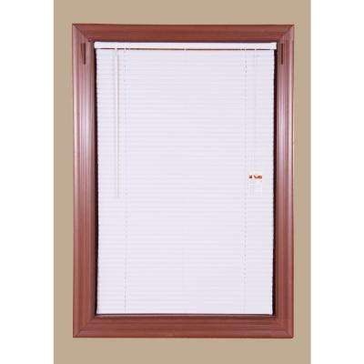 White 1 in. Light Filtering Vinyl Blinds � Case