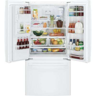 23.7 cu. ft. French Door Refrigerator in White, ENERGY STAR
