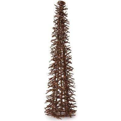 46 in. H Large Twig Cone Tree
