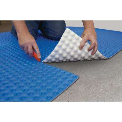 100 sq. ft. 3.67 ft. x 27 ft. 6 in. Unique Air Gap Underlayment Prevents Mold and Mildew