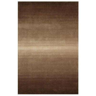 Royal Brown 5 ft. 3 in. x 8 ft. 3 in. Area Rug