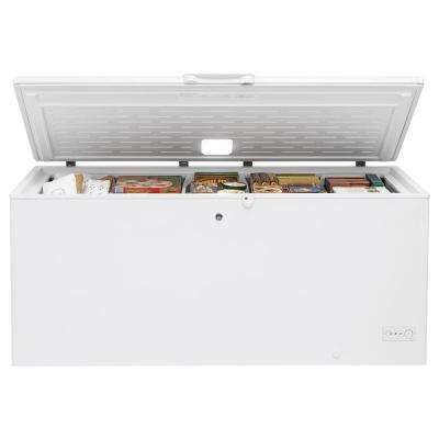Garage Ready 21.7 cu. ft. Chest Freezer in White, ENERGY STAR