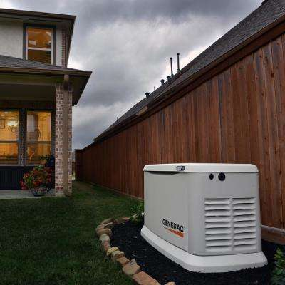 Guardian 10000-Watt Air-Cooled Home Standby Generator with Wi-Fi and 16-Circuit Transfer Switch