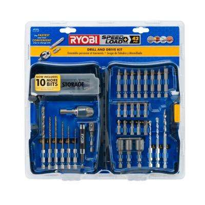 SpeedLoad Plus Drill and Drive Kit (43-Piece)