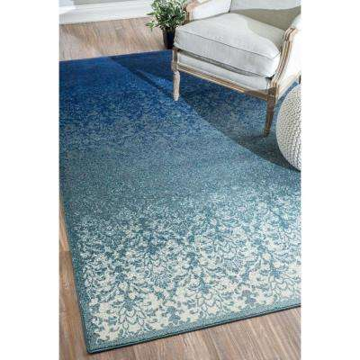 Crandall Turquoise 5 ft. x 8 ft. Area Rug