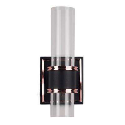 Yorkville 60-Watt Equivalence Rose Gold Integrated LED Sconce