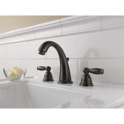 Claymore 8 in. Widespread 2-Handle Bathroom Faucet in Oil Rubbed Bronze