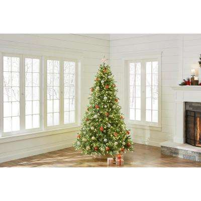 7.5 ft. Pre-Lit LED Spruce Artificial Christmas Tree with 900 Color-Changing Lights