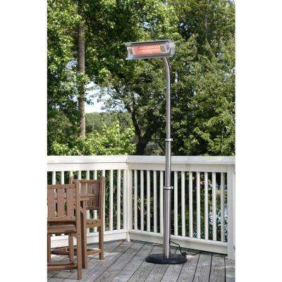 1,500-Watt Stainless Steel Infrared Electric Patio Heater