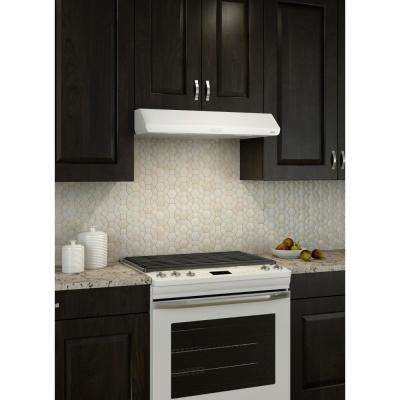 Sahale BKDEG1 30 in. Convertible Under Cabinet Range Hood with Light in White, ENERGY STAR*