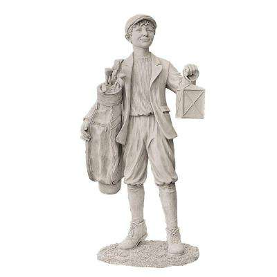 22 in. W x 16 in. D x 44.25 in. H Finishing the Eighteenth Hole Garden Statue