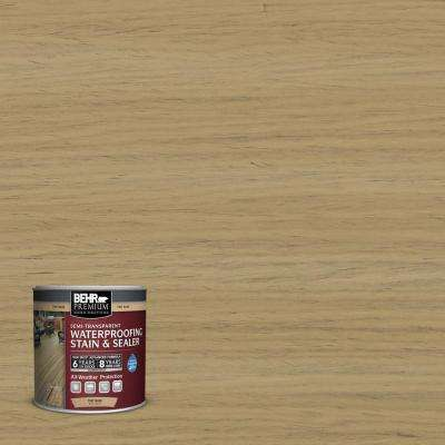 8 oz. #ST145 Desert Sand Semi-Transparent Waterproofing Stain and Sealer Sample