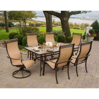 Monaco 7-Piece Outdoor Patio Dining Set