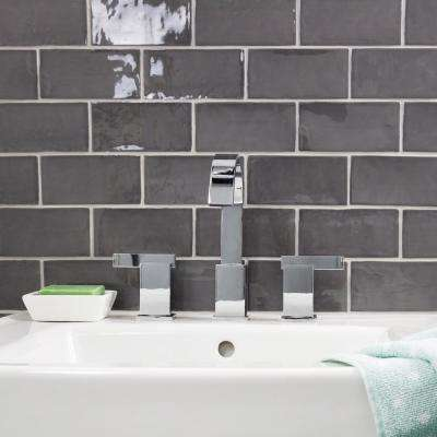 Catalina Driftwood 3 in. x 6 in. x 8 mm Polished Ceramic Subway Wall Tile (44-pieces/ 5.38 sq.ft./case)
