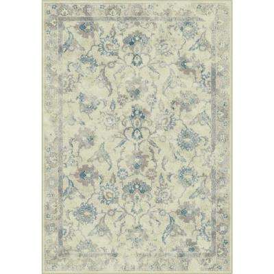 Vintage Stone/Blue 8 ft. x 11 ft. 2 in. Area Rug