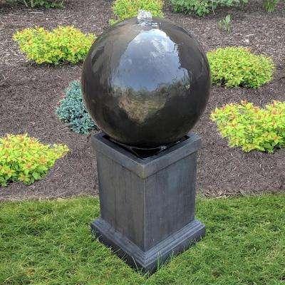 Surrey Cement Sphere Fountain