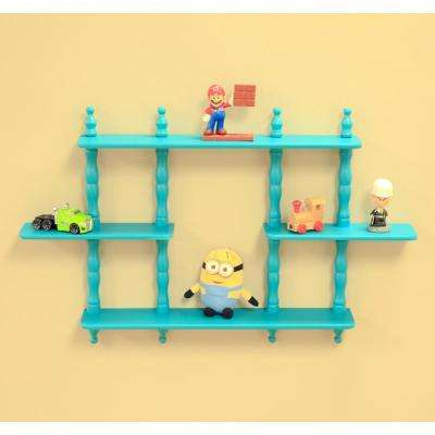 3.5 in. D x 17-1/7 in. W Wall Mounted Decorative Shelf