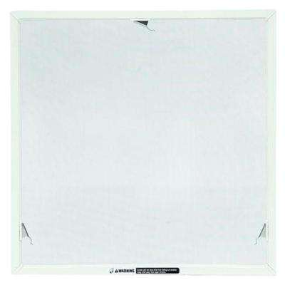 TruScene 44 in. x 20-5/32 in. White Awning Insect Screen
