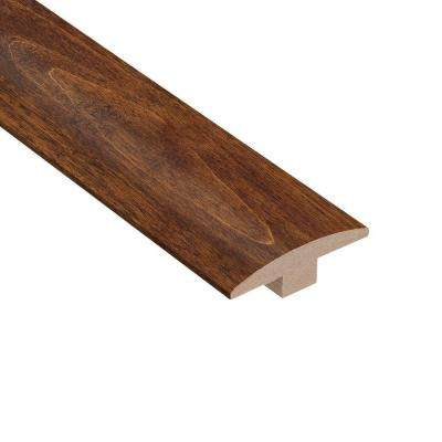 Birch Bronze 3/8 in. Thick x 2 in. Wide x 78 in. Length Hardwood T-Molding
