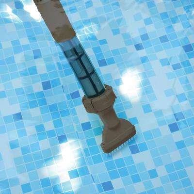 Wanda Electric Boreal Battery Above-Ground Pool Spa Vacuum Cleaner Broom
