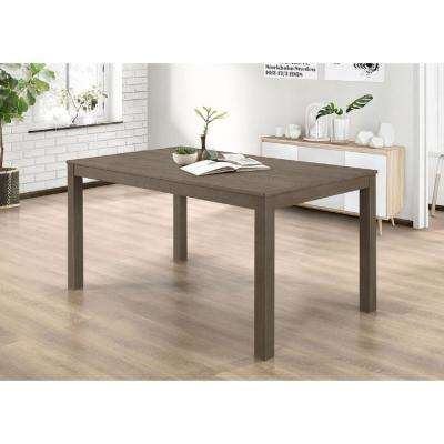 Aged  Gray   Dining Table   Kitchen   Dining Room Furniture   Furniture  . Safavieh Ludlow Dining Table. Home Design Ideas