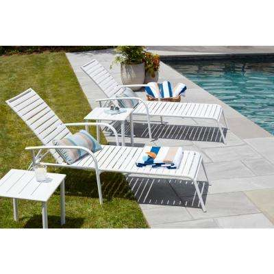 White Outdoor Side Tables Patio Tables The Home Depot