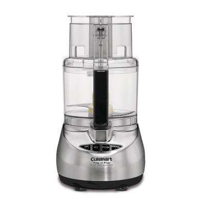 Prep 11 Plus 11-Cup Food Processor, Brushed Stainless