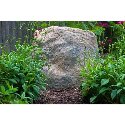 Large Resin Landscape Rock in Deluxe Natural Textured Finish