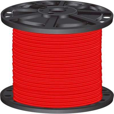 2,500 ft. 6-Gauge Red Stranded CU SIMpull THHN Wire