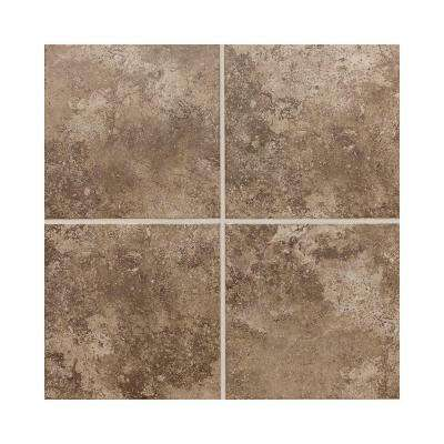 Stratford Place Truffle 6 in. x 6 in. Ceramic Wall Tile (12.5 sq. ft. / case)