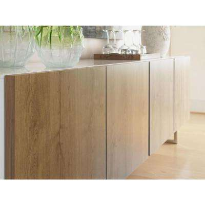 4 ft. x 8 ft. Laminate Sheet in Planked Urban Oak with Natural Grain Finish