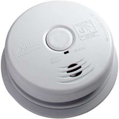 120-Volt Hardwired Worry Free Smoke Detector with 10-Year Battery Backup (2-Pack)