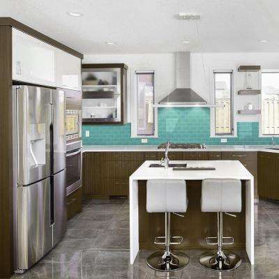 Tiffany May 11-3/4 in. x 11-3/4 in. x 8 mm Glass Mosaic Tile