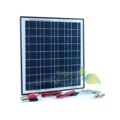 20-Watt  Polycrystalline Solar Panel for 12-Volt Charging
