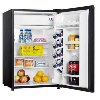 4.44 cu. ft. Mini Fridge in Black