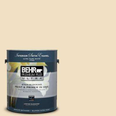Home Decorators Collection 1-gal. #HDC-NT-17 New Cream Satin Enamel Interior Paint
