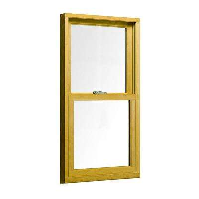 23.75 in. x 37.5 in. 400 Series Woodwright Double Hung Wood Window - White