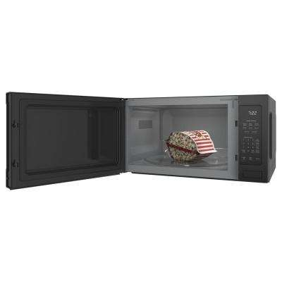 Profile 2.2 cu. ft. Countertop Microwave in Black with Sensor Cooking