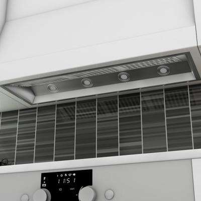 46 in. 1200 CFM Insert Range Hood in Stainless Steel