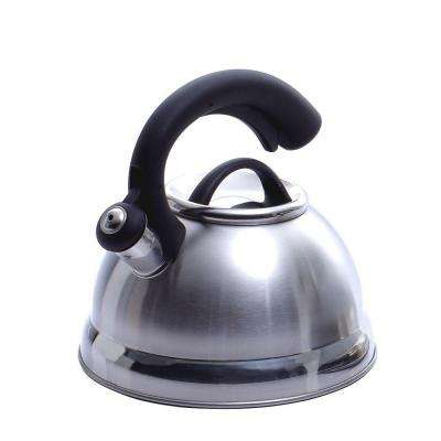 Symphony 10.4-Cup Stovetop Tea Kettle in Silver