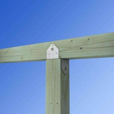 BC ZMAX Galvanized Post Cap for 4x Nominal Lumber