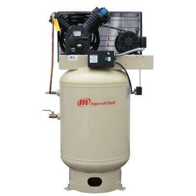 Type 30 Reciprocating 120 Gal. 10 HP Electric 200-Volt 3 Phase Vertical Air Compressor