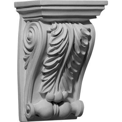 6-1/8 in. x 4-5/8 in. x 9-1/2 in. Polyurethane Chesterfield Corbel