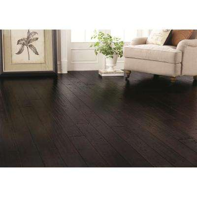 Hand Scraped Strand Woven Berkshire 1/2 in. T x 7-1/2 in. W x 72-7/8 in. L Engineered Click Bamboo Flooring