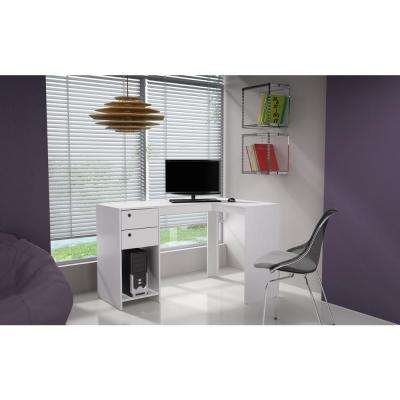 Palermo White Desk