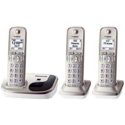 3-Handset Expandable Digital Cordless Phone