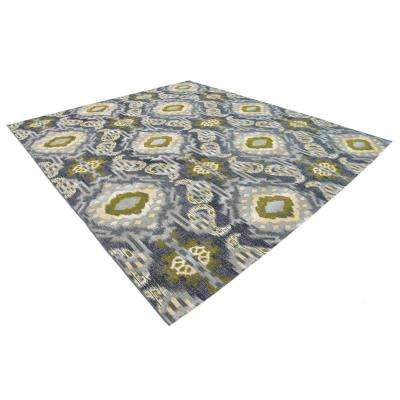 Outdoor Union Blue 10' 0 x 12' 0 Area Rug